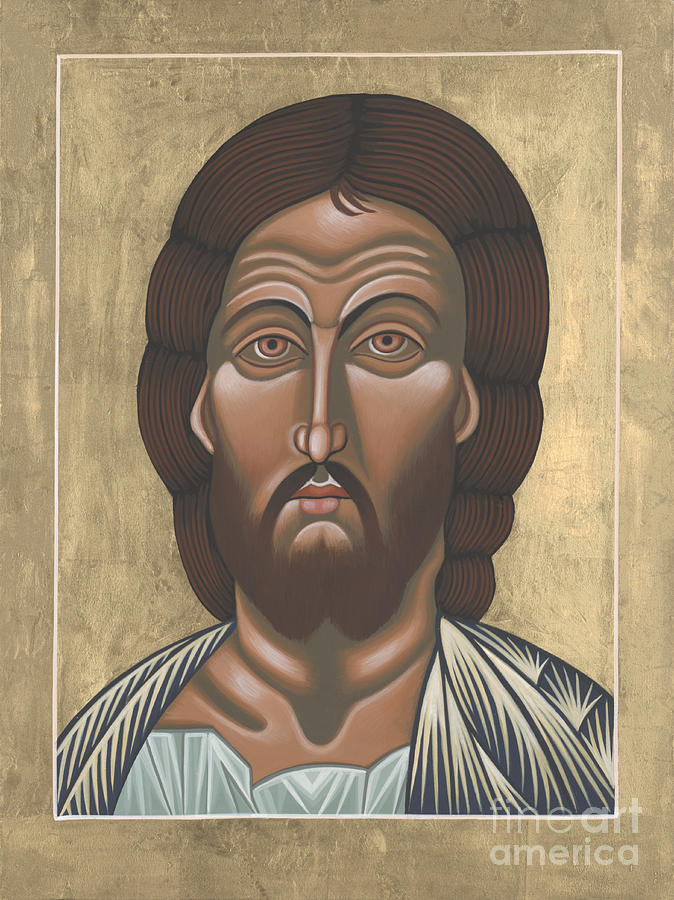 Jesus Christ Painting - Saviour of the Fiery Eye 227 by William Hart McNichols