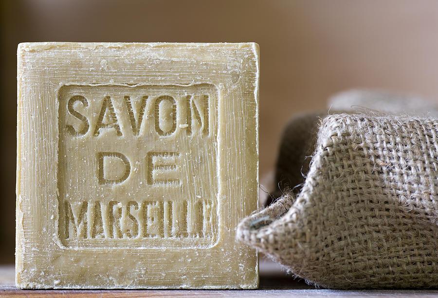 Olive Photograph - Savon De Marseille by Frank Tschakert