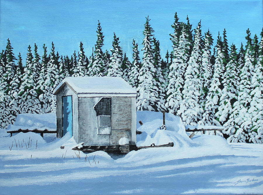 Newfoundland And Labrador Painting - Sawmill by Thom Barker