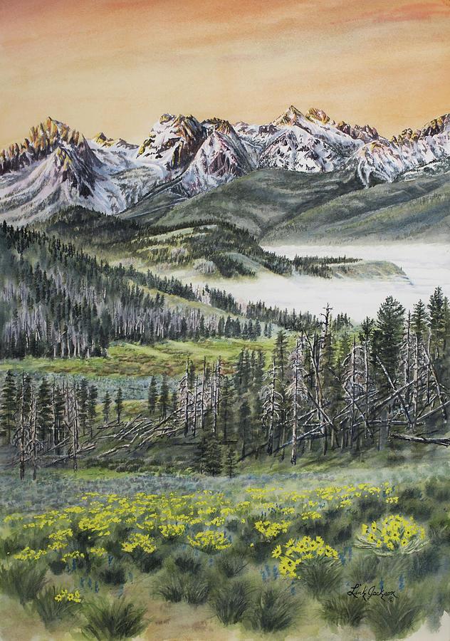 Sawtooth Dawn by Link Jackson