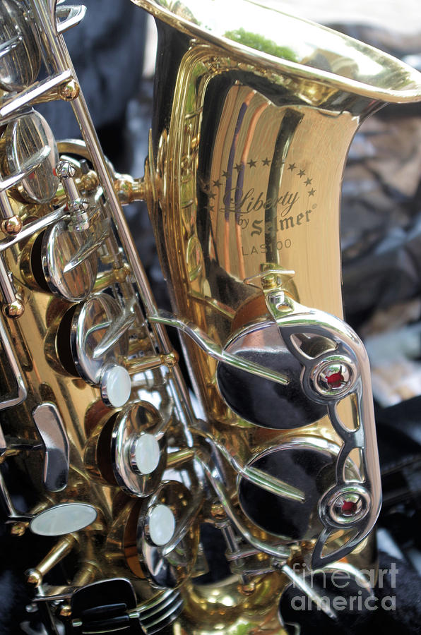 Sax In The City Photograph