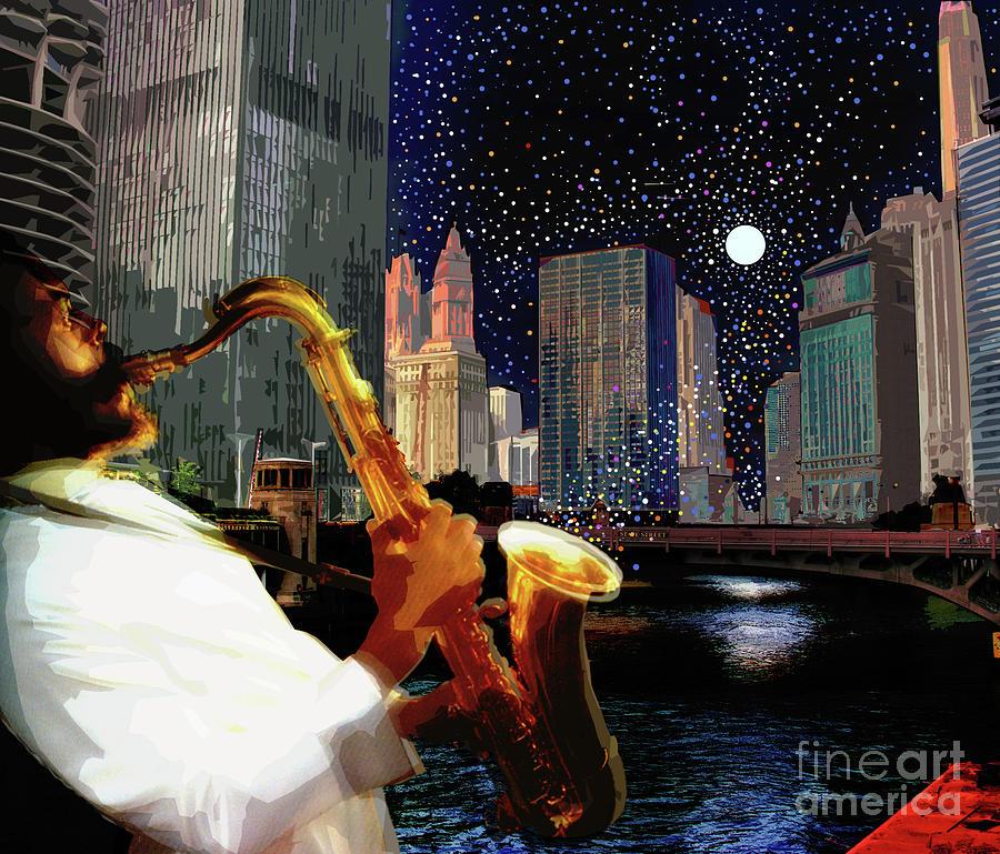 Sax in the City by Joe Roache