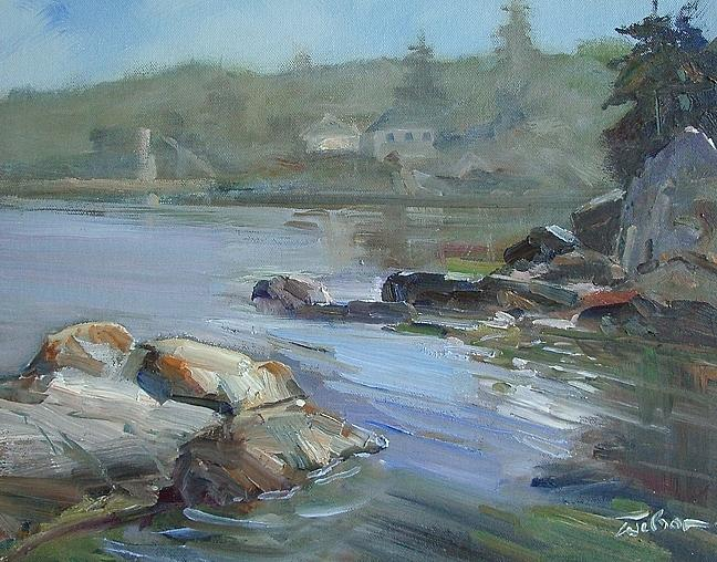 Saxe Painting - Saxe Point by Ron Wilson