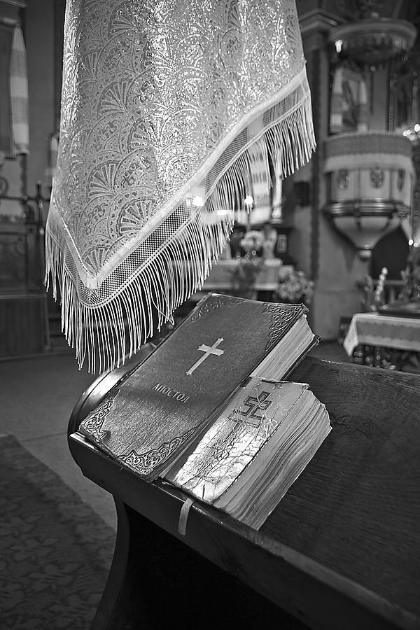Bible Photograph - Say A Little Prayer by Evelina Kremsdorf