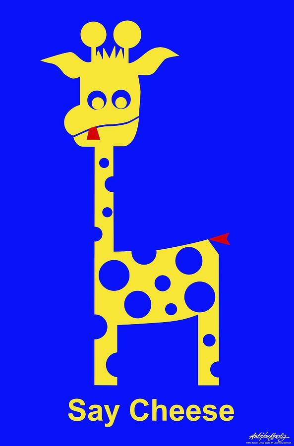 Say Cheese Digital Art by Asbjorn Lonvig