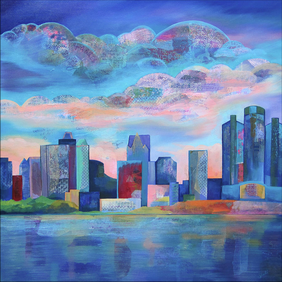 Say Nice Things About Detroit Painting