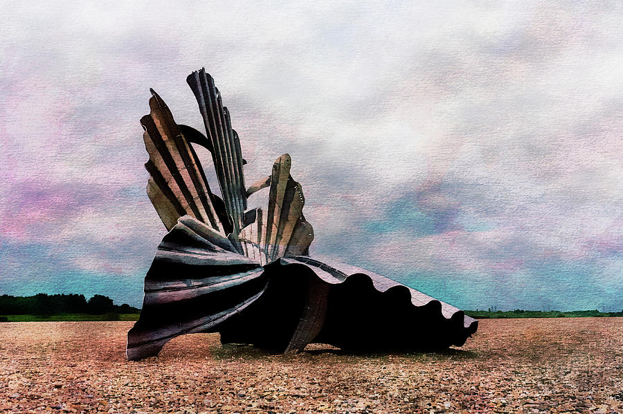 Scallop Shell at Aldeburgh by Paul Cullen