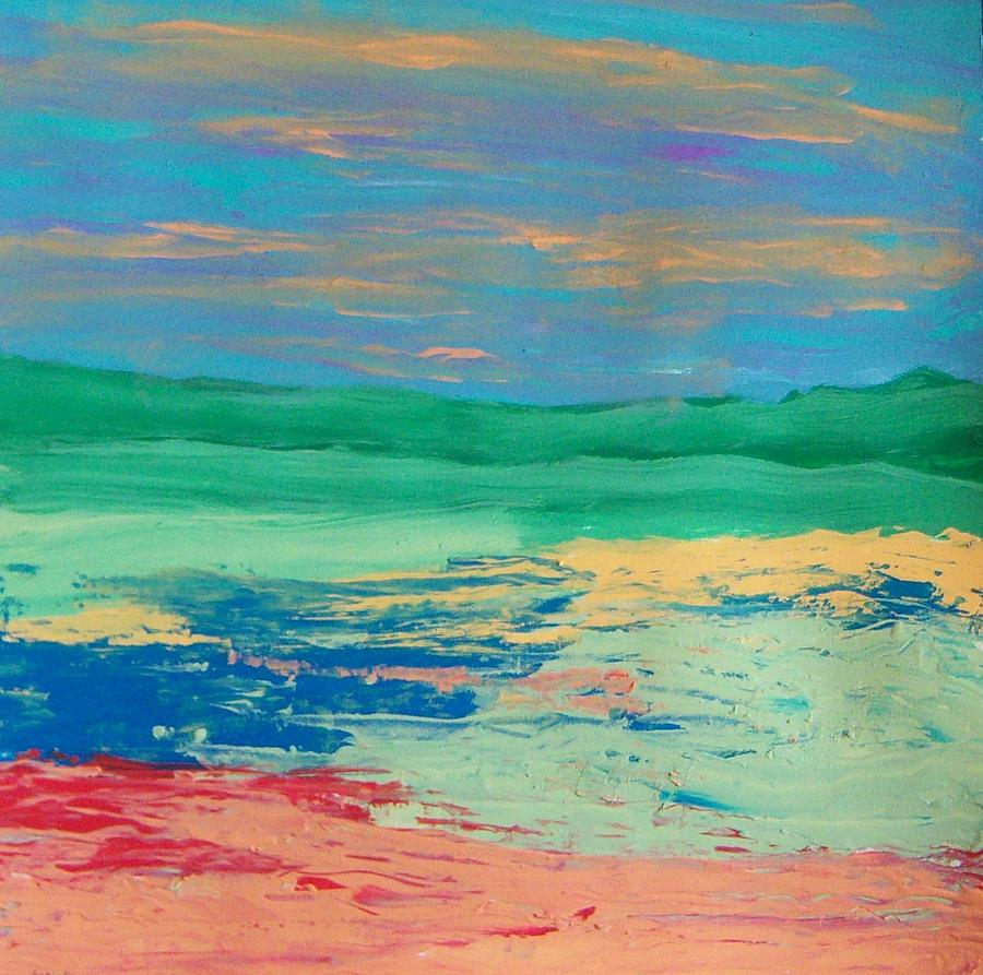 Landscape Painting - Scape by Helene Henderson