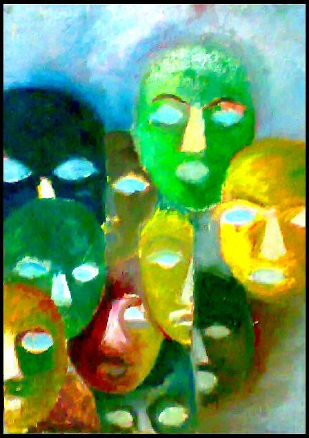 Scare Painting by Ebrahim Metwaly