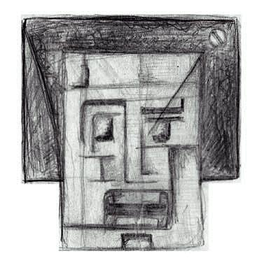 Afraid Drawing - Scared by Ebrahim Metwaly