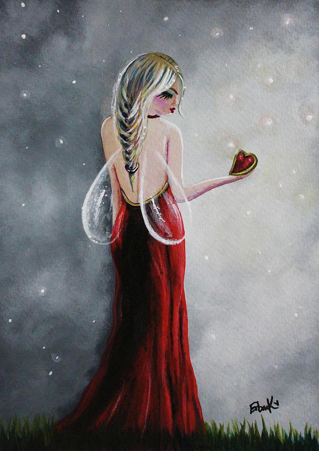 Scarlett - Original Fairy Art by Erback Art