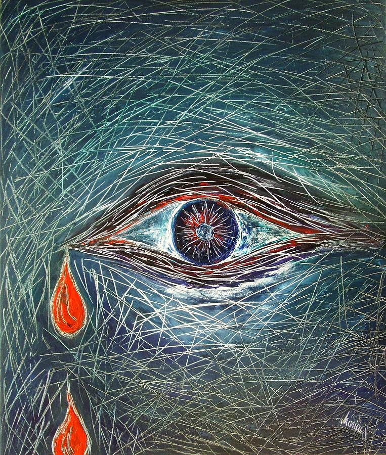 Scars Painting - Scars In My Soul by Marianna Mills