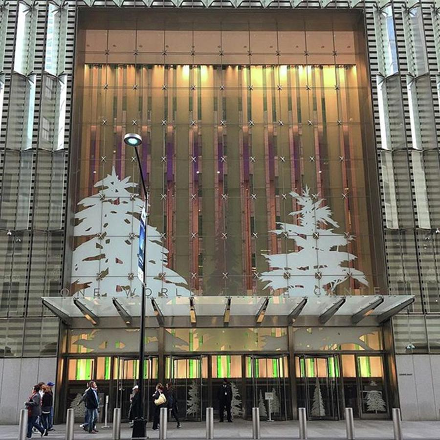 1wtc Photograph - Scary #christmas 🎄trees Over The by Gina Callaghan