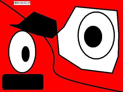 Eyes Digital Art - Scary Eyes by Heinrich Haasbroek