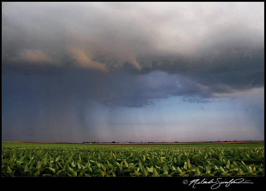 Storm Photograph - Scary Storm by Melinda Swinford