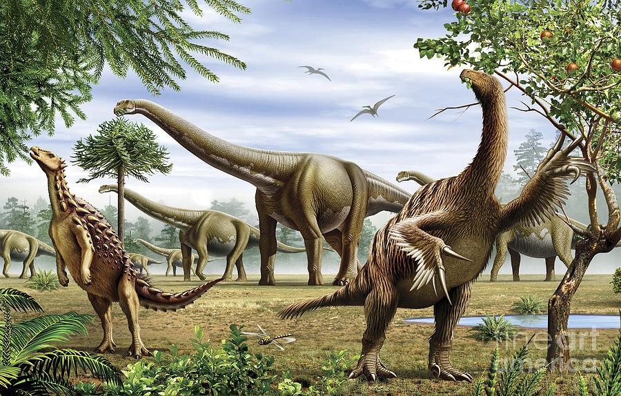 Scelidosaurus Nothronychus Digital Art By Mohamad Haghani