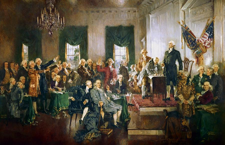 a comparison of the federalist and anti federalist views on the ratification of the united states co