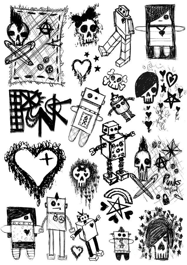 emo drawings fine art america
