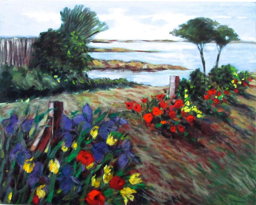 Ogunquit Painting - Scenery in Ogunquit by Marilene Sawaf