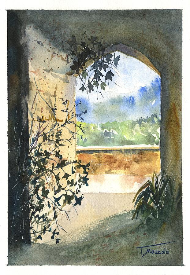 Sicily Painting - Scenes Of Sicily, I by Antonio Mazzola