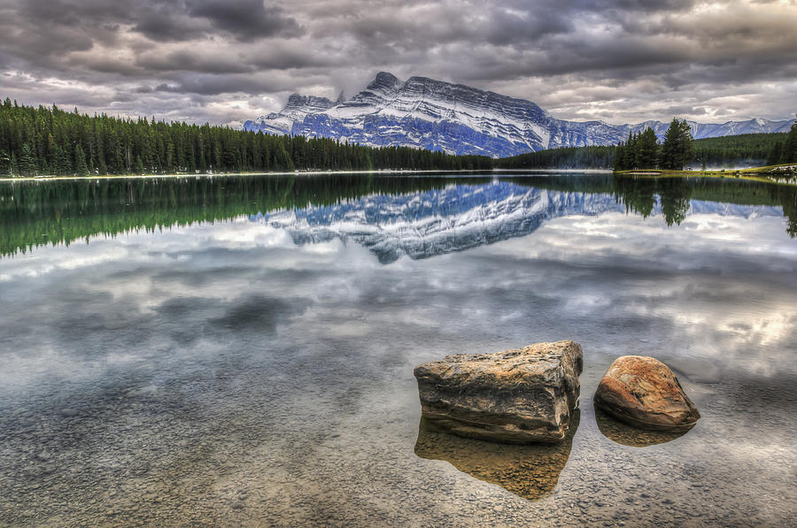 Scenic Two Jack Lake Photograph