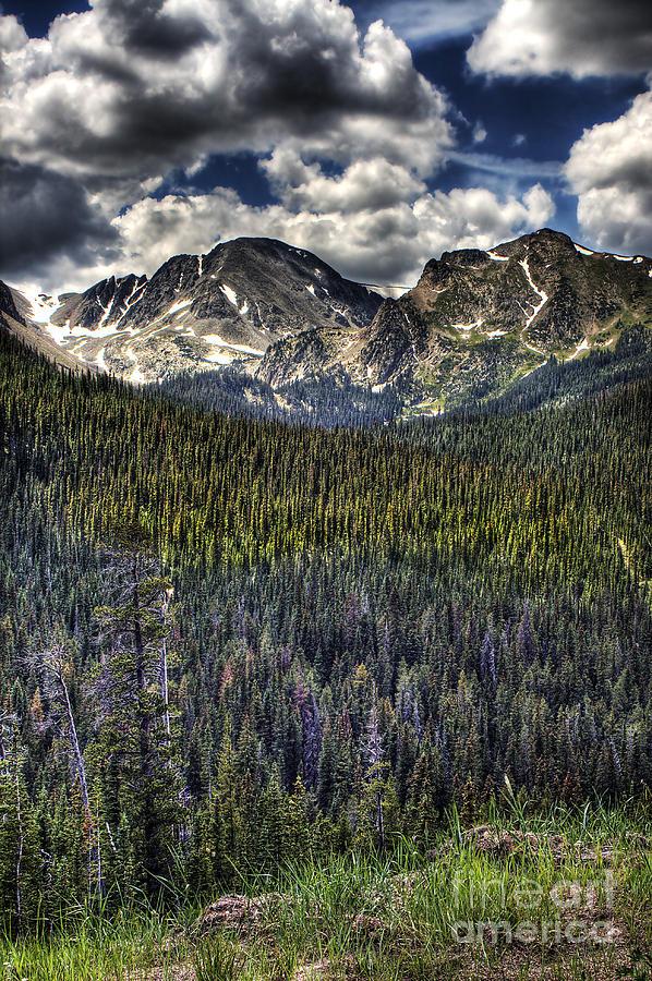Landscape Photograph - Scenic View From The Highway by Pete Hellmann