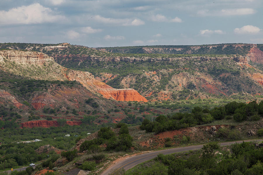 Scenic View of Palo Duro Canyons by Judy Wright Lott