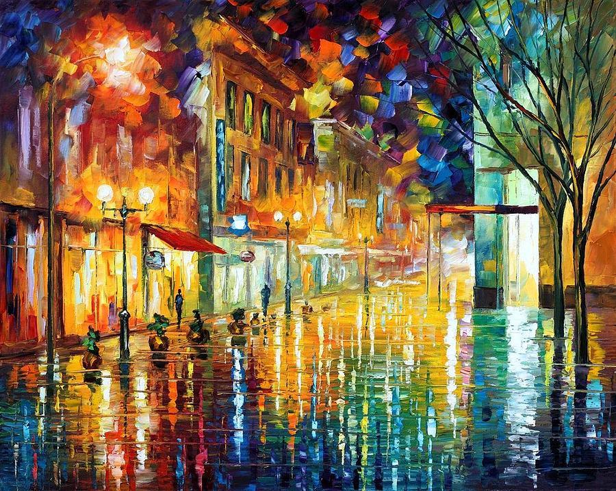 Afremov Painting - Scent Of Rain by Leonid Afremov