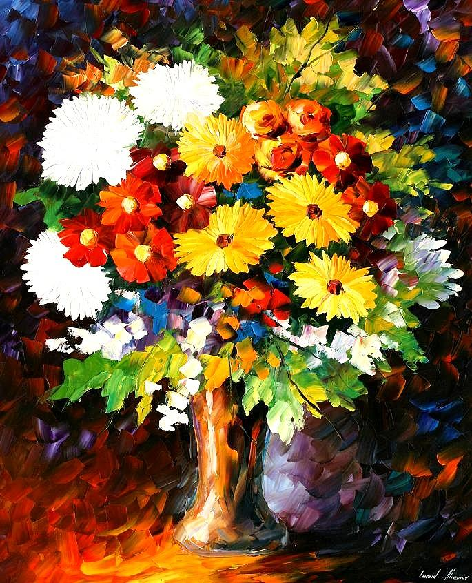 Afremov Painting - Scent Of The Night by Leonid Afremov