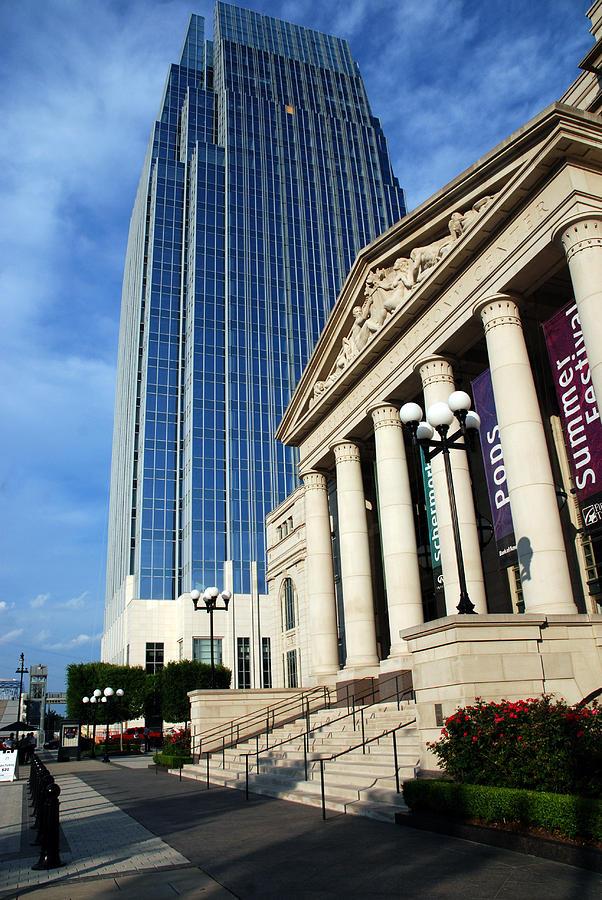 Nashville Photograph - Schermerhorn Symphony Center Nashville by Susanne Van Hulst
