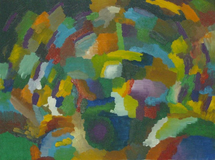Schizophrenia Painting - Schizophrenia by Mike Boast