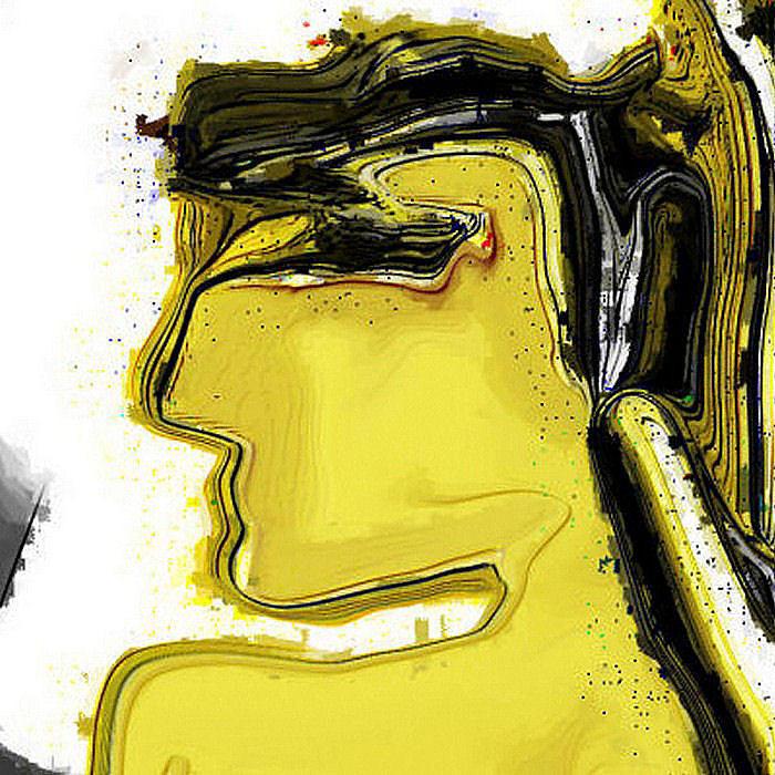 Digital Digital Art - Schoene Griechin by Ilona Burchard