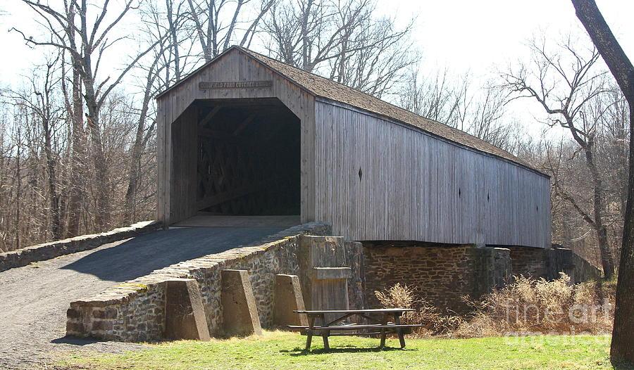 Schofield Ford Covered Bridge by Ken Keener