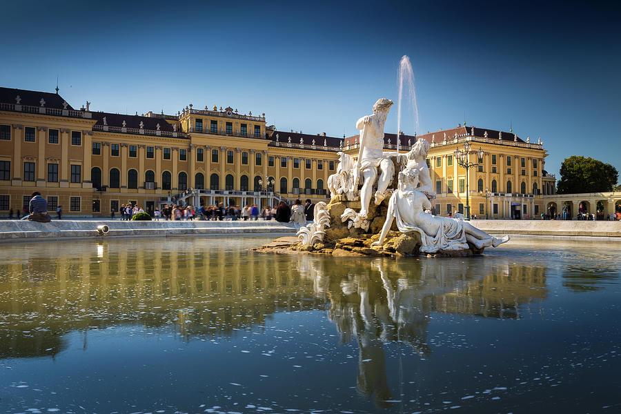 Schonbrunn Palace by Robert Davis