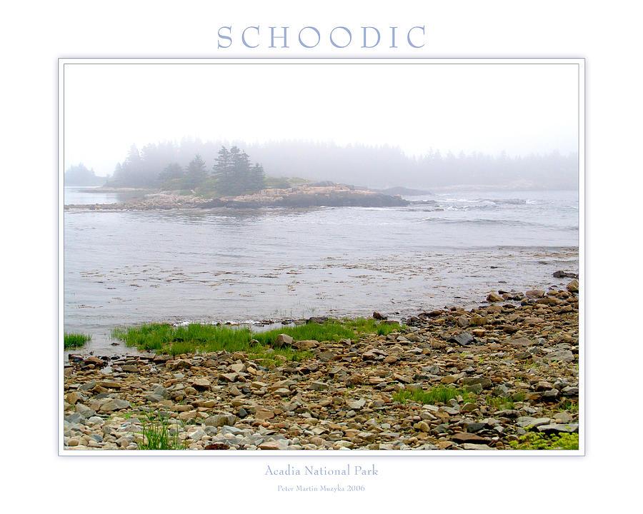 Landscape Photograph - Schoodic by Peter Muzyka
