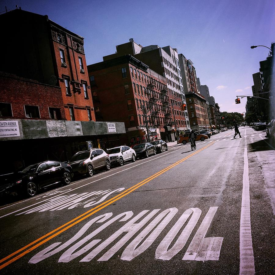 Harlem Photograph - Harlem Crossing by Joseph Mari