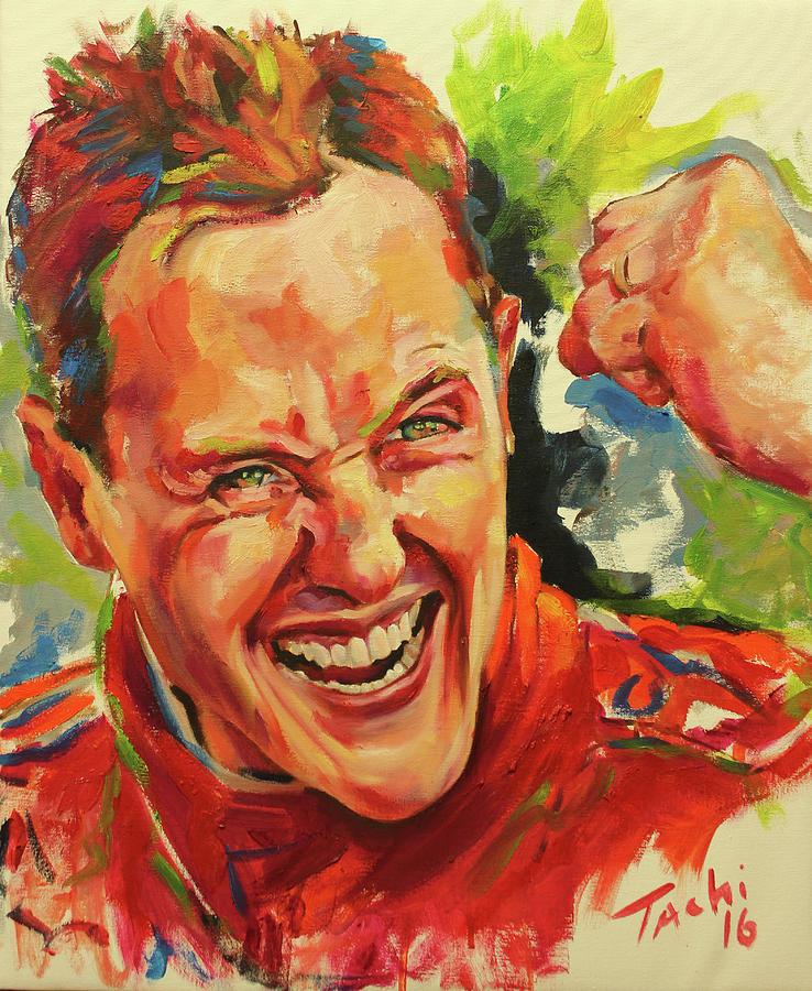 Schumacher by Tachi Pintor