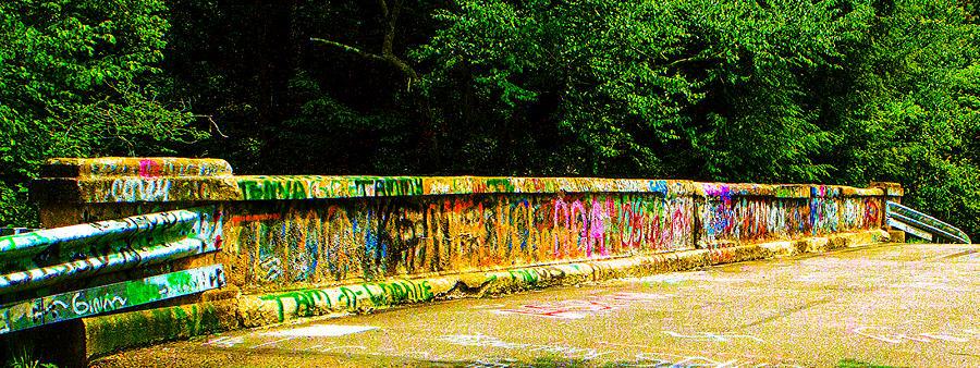 Schuylkill County Photograph - Schuylkill Graffiti by Jeff Kurtz