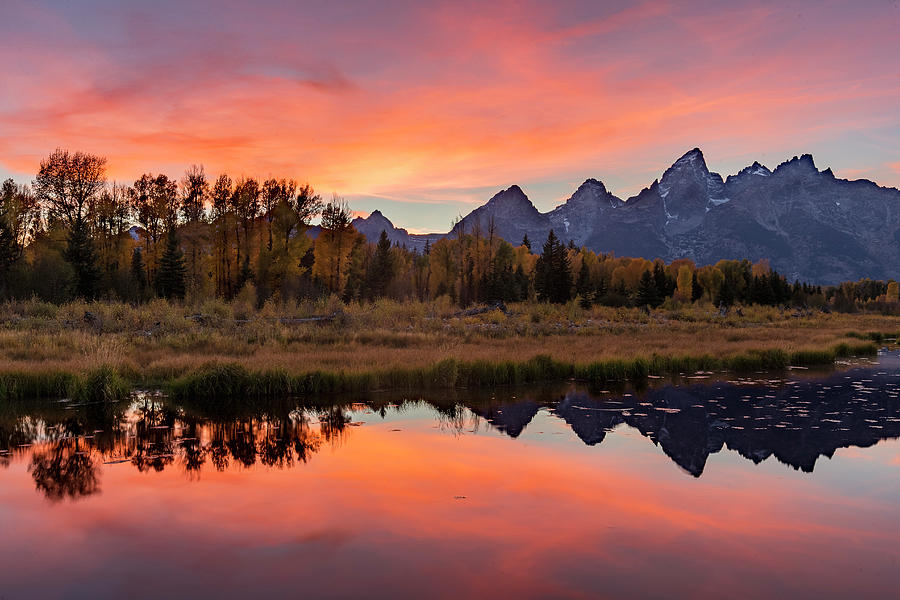 Schwabacher Sunset 2 by D Robert Franz