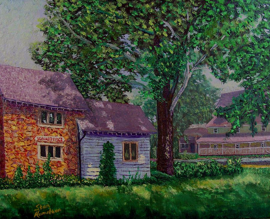 Nashville Painting - Schwabs Fudge by Stan Hamilton