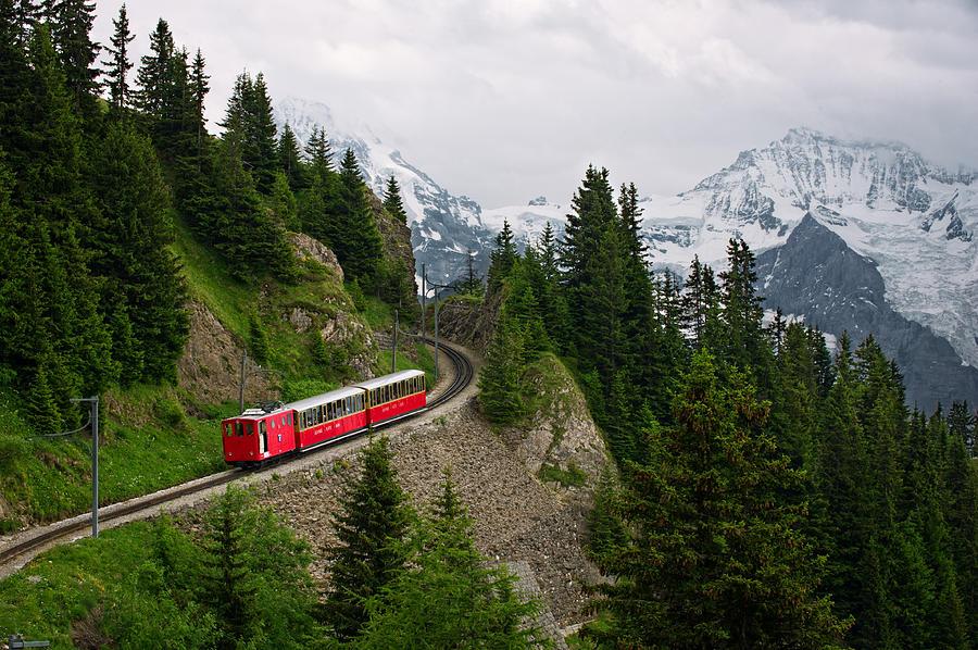 Swiss Alps Photograph - Schynige Platte by Bernard Chen