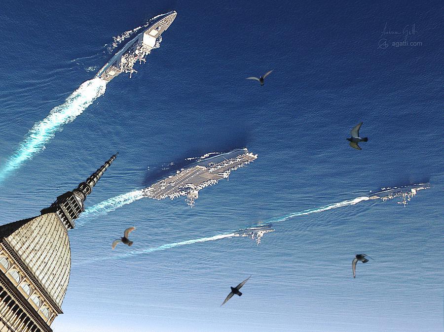 Sci Fi Digital Art - Scie Idriche by Andrea Gatti