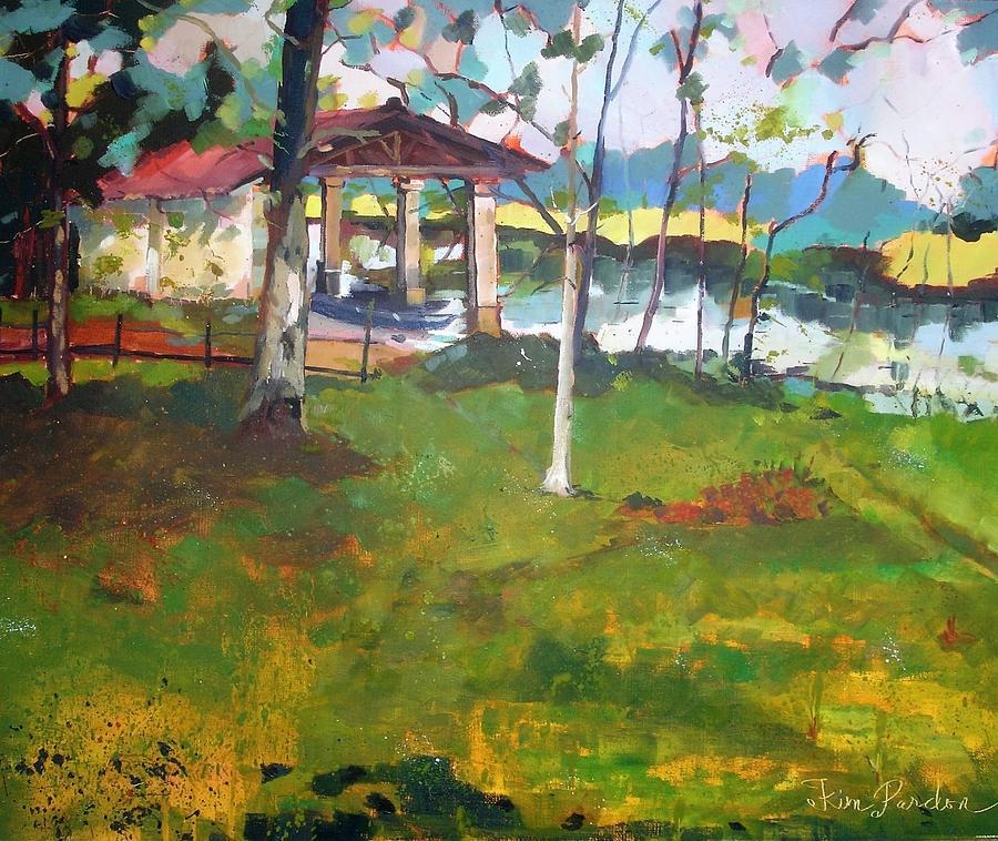 Scieq - Le Lavoir Painting