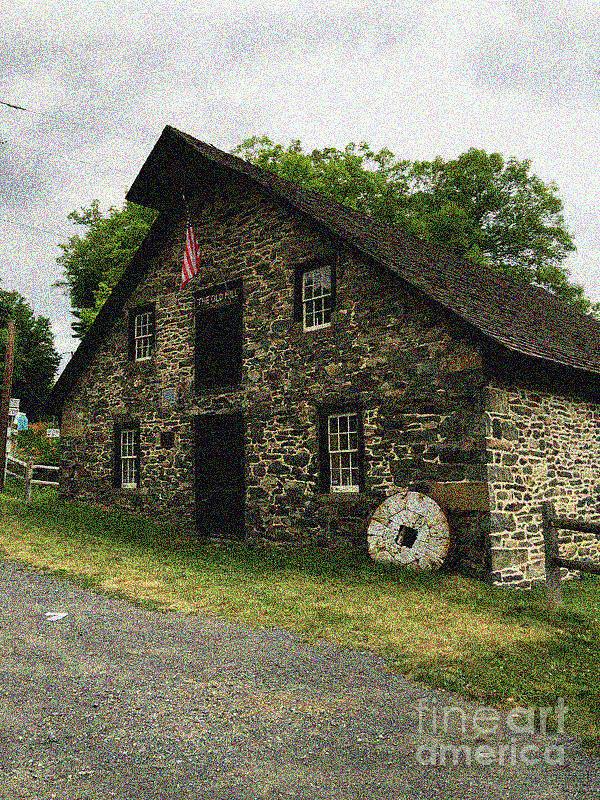 Sciota Mill Pennsylvania Photograph by William Rogers