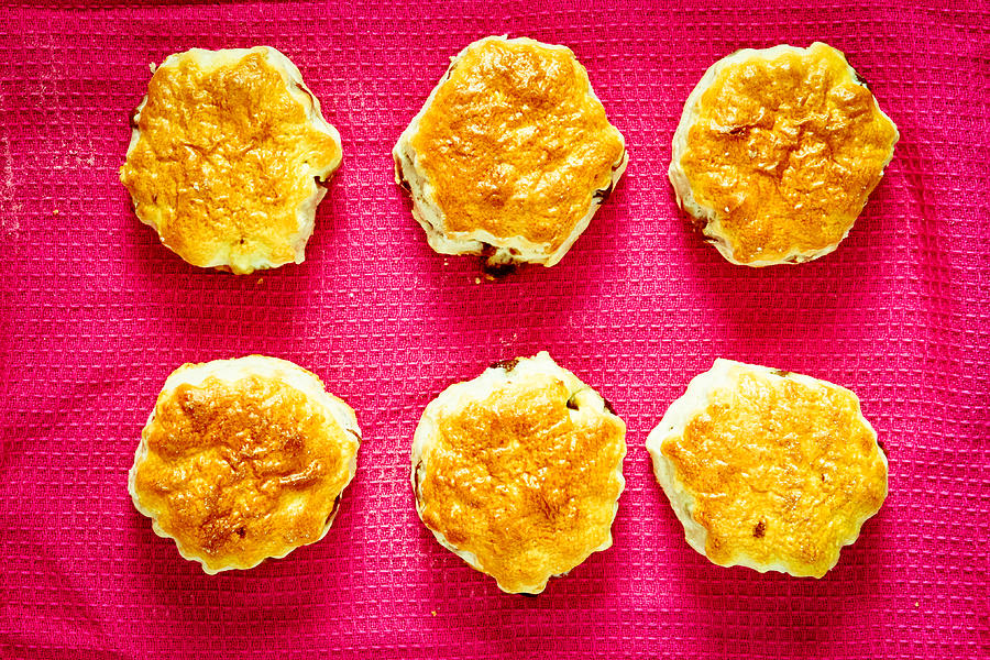 Afternoon Photograph - Scones by Tom Gowanlock