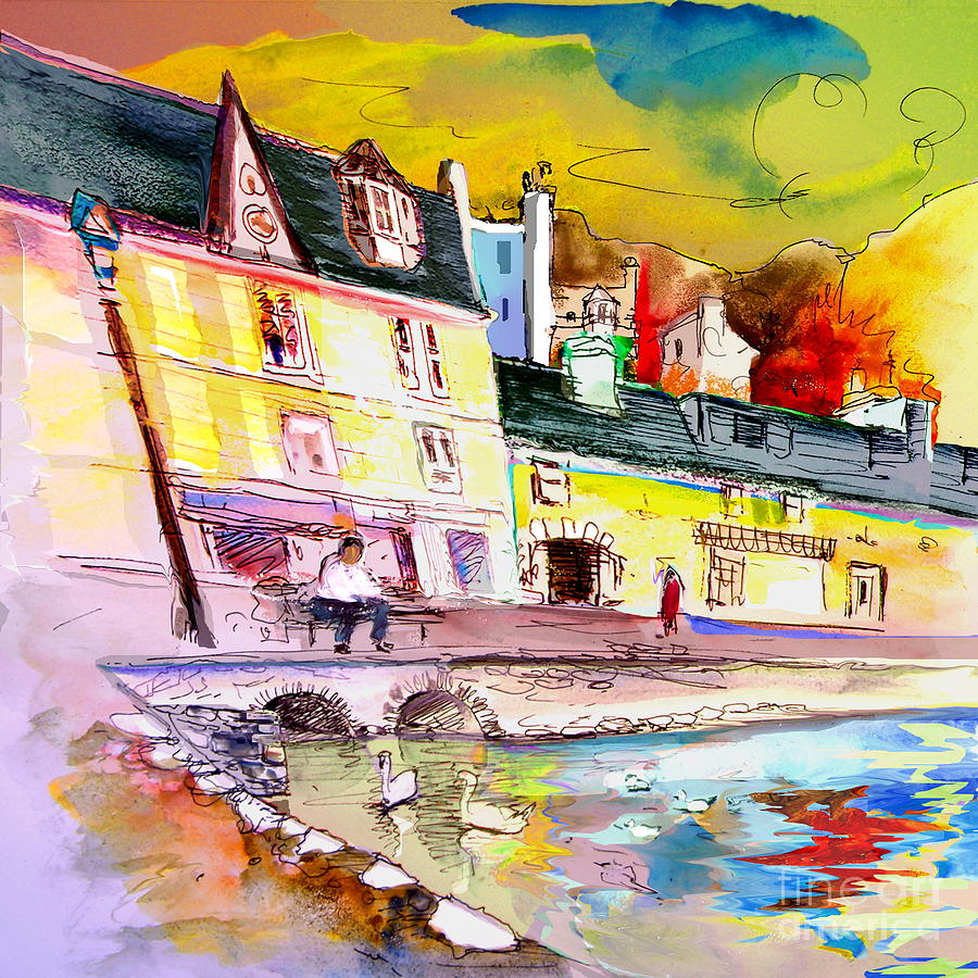 Scotland 04 Painting by Miki De Goodaboom