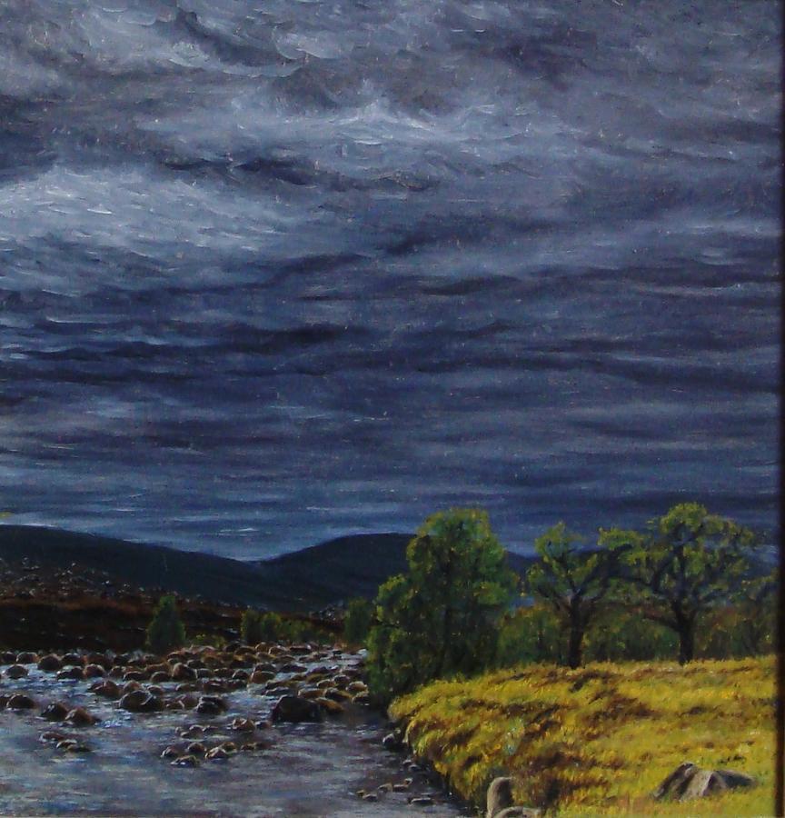 Scotland Painting - Scotland Ancient Buchanlands by Alexander Bukhanov
