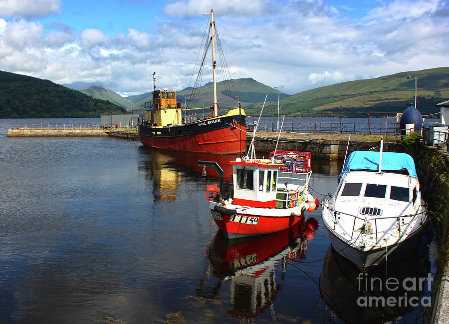 Scotland fishing trawlers by Gregory Dyer