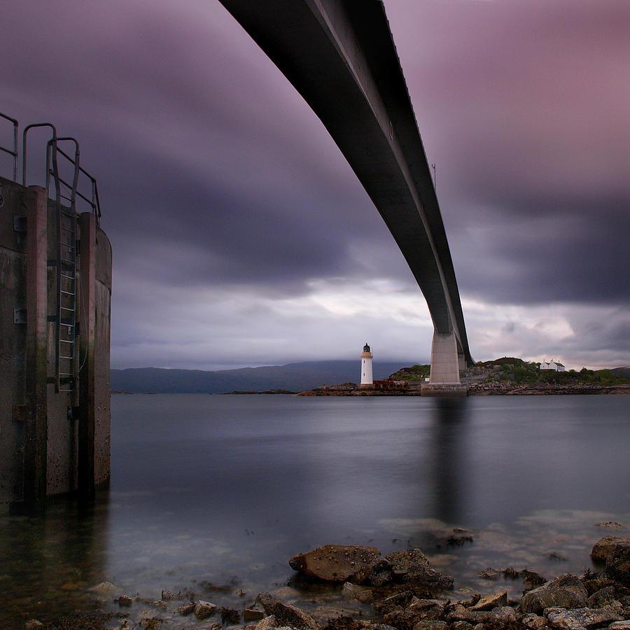 Scotland Photograph - Scotland Skye Bridge by Nina Papiorek