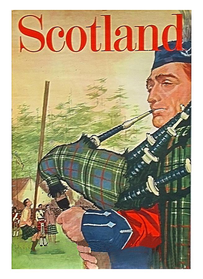 Scotland Painting - Scotland 10c2d82028f06